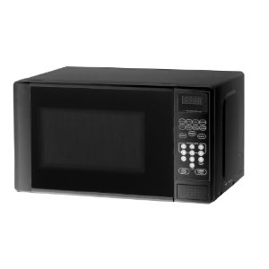 Black friday Haier MWM0701TB Compact700-Watt Microwave Oven